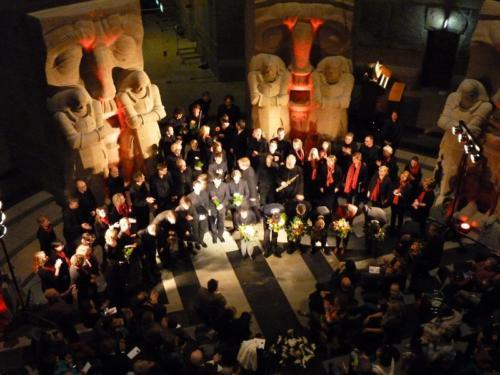 Jubiläumskonzert (Völkerschlachtdenkmal/Leipzig, 2013) ©Bernd Lehfeld